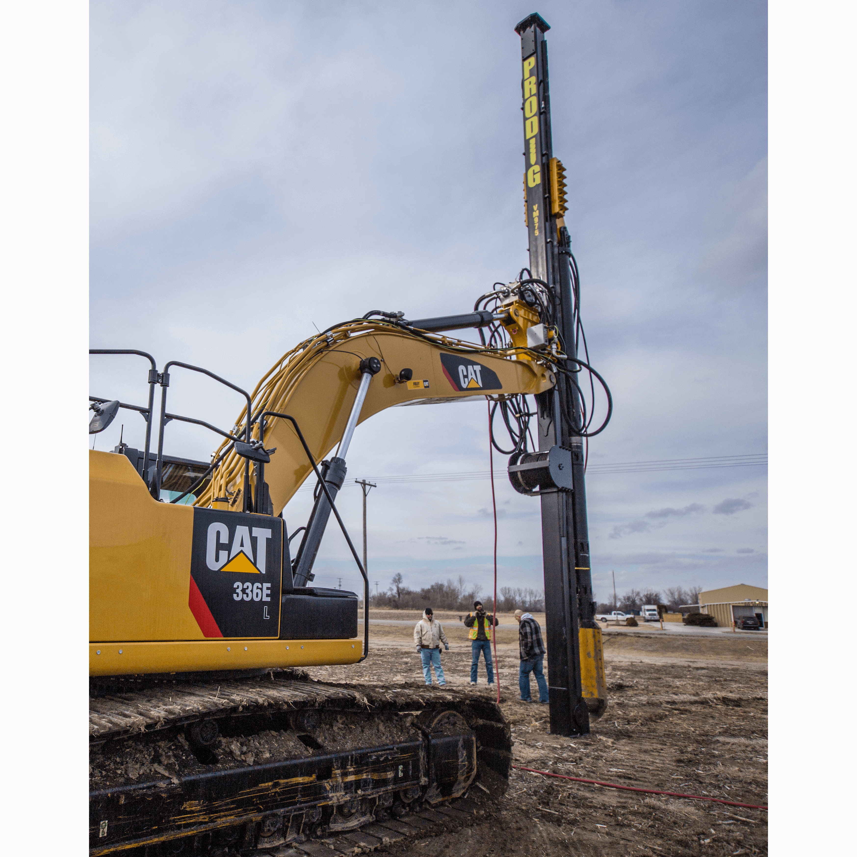 Helical Pile & Auger Drill | Helicals Pile & Auger Drills by Pro Dig USA